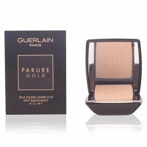 Compact powder PARURE GOLD teint poudre lumière d'or
