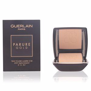 Poudre compacte PARURE GOLD teint poudre lumière d'or Guerlain