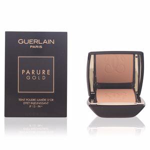 Base de maquillaje PARURE GOLD teint poudre lumière d'or Guerlain