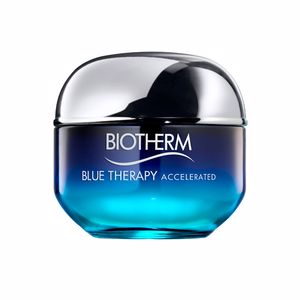 Anti aging cream & anti wrinkle treatment - Antioxidant treatment cream BLUE THERAPY accelerated cream Biotherm