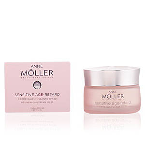 Anti-rugas e anti envelhecimento SENSITIVE ÂGE-RETARD crème SPF20 peaux sèches Anne Möller