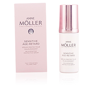 Anti aging cream & anti wrinkle treatment SENSITIVE ÂGE-RETARD sérum Anne Möller