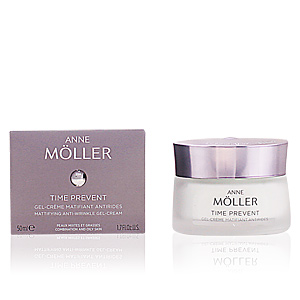 Anne Möller, TIME PREVENT  gel-crème matifiant anti-rides 50 ml