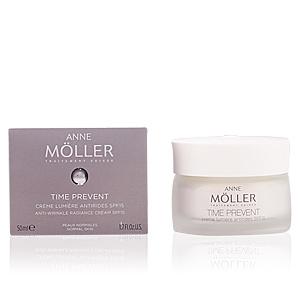 Face moisturizer TIME PREVENT crème lumière antirides SPF15 Anne Möller