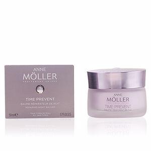 Face moisturizer TIME PREVENT baume réparateur nuit Anne Möller