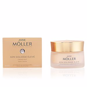 Anti aging cream & anti wrinkle treatment ADN GOLDÂGE ÉLEVÉ créme nuit Anne Möller