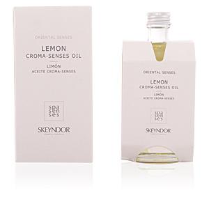 Skeyndor ORIENTAL SENSES limón aceite croma-senses perfume
