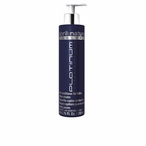 Masque pour les cheveux COLOR platinum hair conditioner hiding yellow shades Abril Et Nature