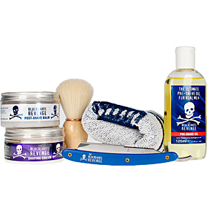 Set da barba - Set di cosmetici per il viso THE BARBER BUNDLE KIT COFANETTO The Bluebeards Revenge