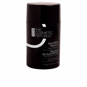 Hair loss treatment KERATIN FIBERS hair fibers #dark brown The Cosmetic Republic