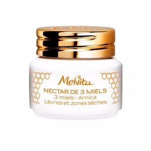 Balsamo labial NECTAR DE MIELS 3 miels - arnica lèvres et zones sèches Melvita