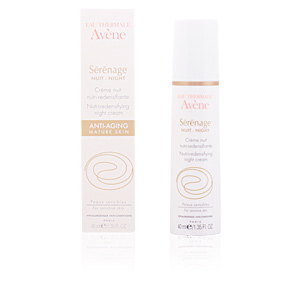 Skin tightening & firming cream  SERENAGE crème nuit nutri-redensifiante Avène