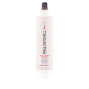 Hair styling product FIRM STYLE freeze & shine super spray Paul Mitchell