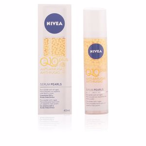 Anti aging cream & anti wrinkle treatment Q10+ anti-arrugas serum pearls Nivea