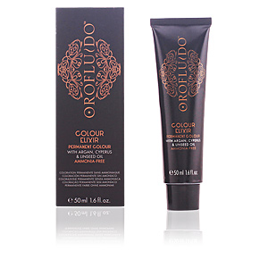 Tinte COLOUR ELIXIR permanent colour #1 black Orofluido