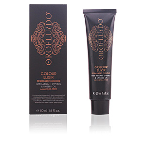 Tintas COLOUR ELIXIR permanent colour #4 brown Orofluido