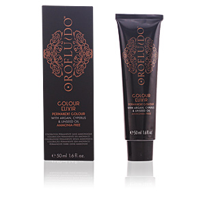 Tintas COLOUR ELIXIR permanent colour #6,3 dark golden blonde Orofluido