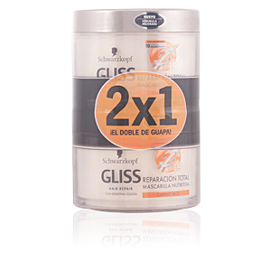 GLISS REPARADOR TOTAL MASK LOTE 2 pz