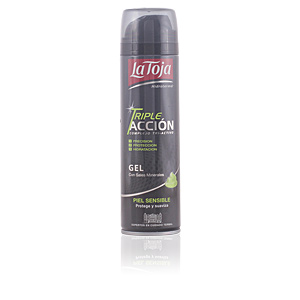 GEL AFEITAR TRIPLE ACCIÓN piel sensible 200 ml