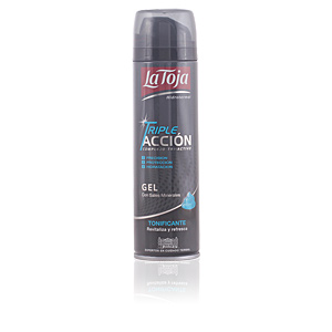 GEL AFEITAR TRIPLE ACCIÓN tonificante 200 ml