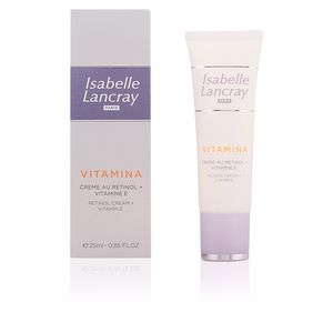 Antifatigue facial treatment VITAMINA crème au retinol + vitamine E Isabelle Lancray