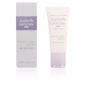 Acne Treatment Cream & blackhead removal PURALINE detox gel anti-spot Isabelle Lancray