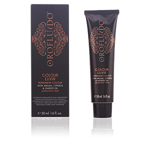 Dye COLOUR ELIXIR permanent colour #8,3 light golden blonde Orofluido