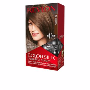 Couleurs COLORSILK tinte #41-castaño medio Revlon