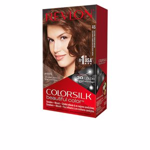 Tinte COLORSILK tinte #46-castaño cobrizo dorado Revlon