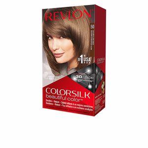Tintas COLORSILK tinte #50-castaño claro cenizo Revlon