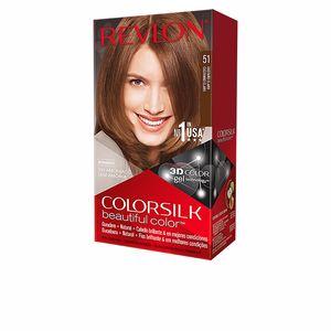 Dye COLORSILK tinte #51-castaño claro Revlon