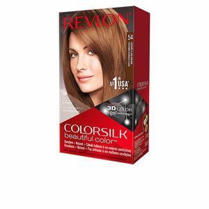 Haarfarbe COLORSILK tinte #54-castaño claro dorado Revlon