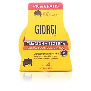 Giorgi, FIJACIÓN Y TEXTURA crema look despeinado nº4 125+10 ml