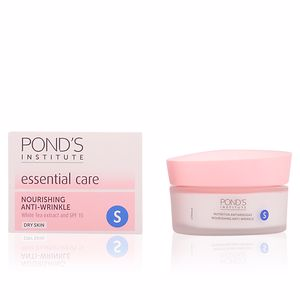 Anti aging cream & anti wrinkle treatment CUIDADO ESENCIAL nutritiva antiarrugas ´S´ piel seca Pond's