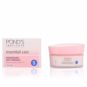 Cremas Antiarrugas y Antiedad CUIDADO ESENCIAL nutritiva antiarrugas 'S' piel seca Pond's