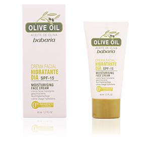 Face moisturizer ACEITE DE OLIVA crema facial hidratante de día SPF15 Babaria