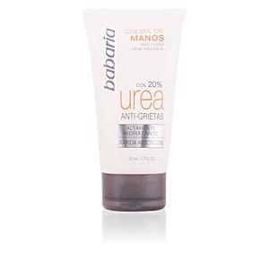 Tratamientos y cremas manos UREA 20% crema de manos anti-grietas Babaria