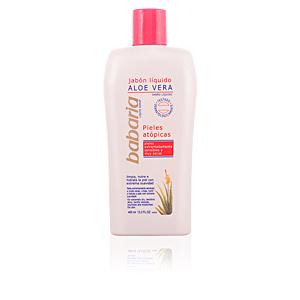 ALOE VERA jabón líquido corporal pieles atópicas 400 ml