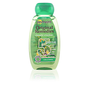 ORIGINAL REMEDIES champú 5 plantas 250 ml