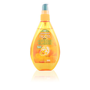 Anti-frizz treatment - Shiny hair  treatment - Hair repair treatment FRUCTIS ACEITE MILAGROSO sin aclarado Garnier