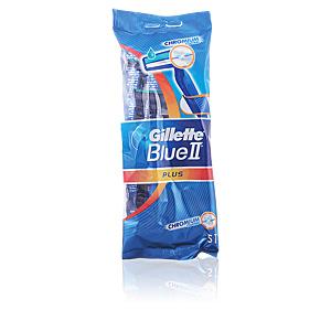 Lamette da barba BLUE II PLUS cuchilla de afeitar desechable Gillette