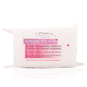 SUBLIME&SUAVE cleansing wipes face&eyes PSS