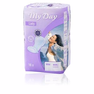 MY DAY compresas incontinencia mini 16 uds