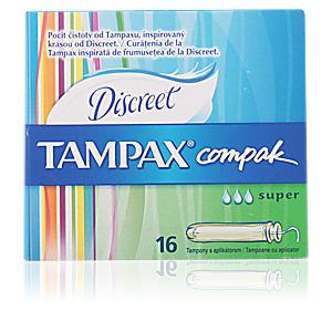 TAMPAX COMPAK tampón super 16 uds