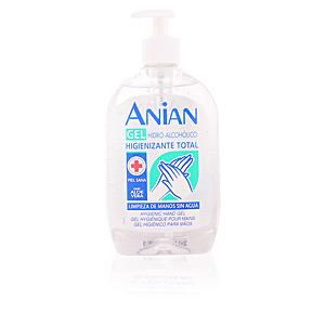 Gel higienizante desinfectante HIDRO-ALCOHÓLICO gel higienizante total manos Anian