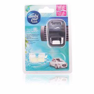 AMBIPUR CAR ambientador aparato + recambio #aqua 7 ml