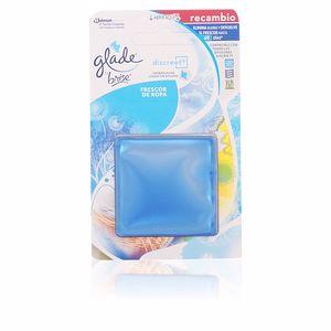Deodorante per ambienti GLADE DISCREET electrico recambio #frescor de ropa Brise