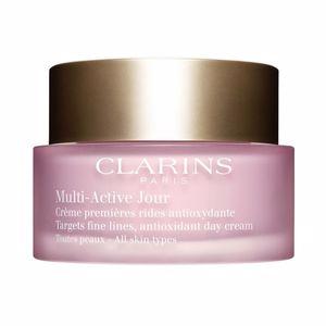 Cremas Antiarrugas y Antiedad MULTI-ACTIVE crème jour toutes peaux Clarins