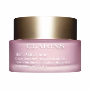 Antifatigue facial treatment MULTI-ACTIVE crème jour peaux sèches Clarins