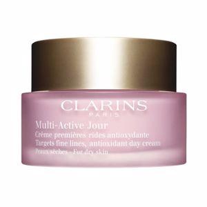 Soin du visage hydratant MULTI-ACTIVE crème jour peaux sèches Clarins
